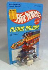 HotWheels Flying Colors T-Totaller Black Black Wall Wheels