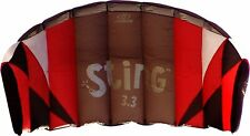Flexifoil Sting 3.3sqm kite - Last One ! ! ! complete with bag, lines, handles