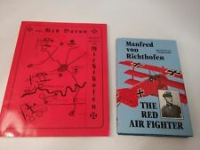 Lot of 2~Red Air Fighter:von Richthofen~The Red Baron: A Calendar History (Wor..