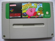 Kirby's Dream Land 3 for Super Nintendo SNES PAL English
