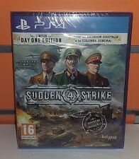 Sudden Strike 4 PS4 NUOVO ITA