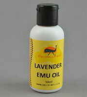 Australian Emu Oil with Lavender Oil Perfect For Massage And Skin Burns 50 ml