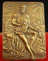 Medal 490 G Luis de Camoès Poem Poet by C Antunes Medal 勋章