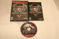 Mortal Kombat Deadly Alliance Playstation 2 PS2 Greatest Hits CIB w/Manual