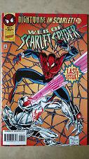 Web Of Scarlet Spider #4 1St Print Marvel Comics (1995) Last Issue