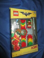 THE LEGO BATMAN MOVIE Robin Buildable Watch Set #802868 DC Comics
