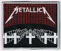 METALLICA MASTER OF PUPPETS EMBROIDERED PATCH heavy thrash speed death metal