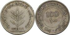 100 Mils 1927 Palästina, Silber #HEB215