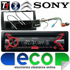 PEUGEOT RCZ SONY CD MP3 USB Bluetooth vivavoce iPod iPhone Stereo KIT NERO