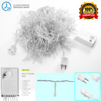 600 LEDs Curtain Lights String Fairy Wedding Party Landscape Lights Lamp Deocr
