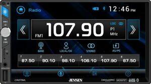 "Jensen CR271ML Double DIN Bluetooth 7"" In-Dash Multimedia Media Car Receiver"