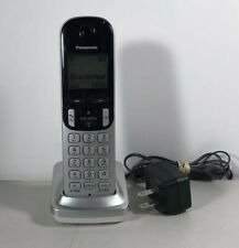 Panasonic KX-TGCA21 Cordless Phone HANDSET And Charging Base W/ Plug & Batteries
