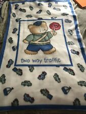 New Baby Fleece Blanket Panel To Be Made With Policeman Bear 30� W X 47� L