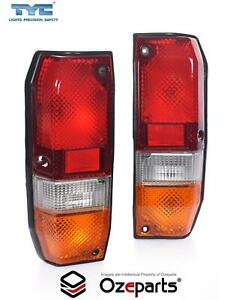 Pair LH+RH Tail Light Lamp For Toyota Landcruiser 70 75 Series Troopy 1985~1999