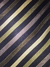 "Kilburne & Finch Big & Tall ""Extra long"" 100% silk tie Striped 68x 4"""