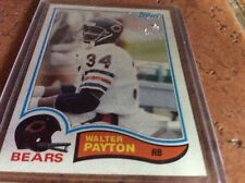 Walter Payton Topps #34 Baseball Card in plastic #302 1982