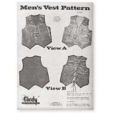 Men's Vest Pattern Tandy Leather 62666-00