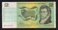 Australia R-83S. (1968) 2 Dollars.. Phillips/Randall - STAR Note.. Prefix ZFR