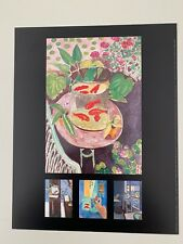 MATISSE,'RED FISHES,1911' RARE AUTHENTIC 1992 ART PRINT