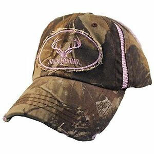 *NEW* RackHound Embroidered Ladies Realtree Hardwoods Camo Cap with Mesh Inserts