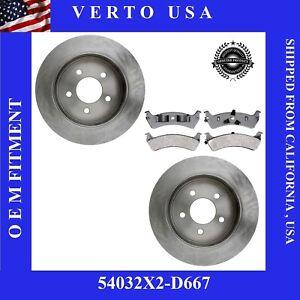 Rear Brake Rotors & Pads For Ford  Explorer, Ranger, Mercury Mountaineer #Chart