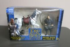 Legolas with Horse Deluxe Rider Set LORD OF THE RINGS FOTR MIB