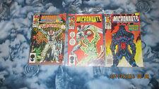 Marvel Comics Micronauts #14-16