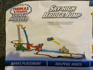 Thomas and Friends Trackmaster Sky High Bridge Jump Set used, with instructions
