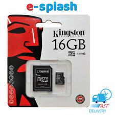 Kingston 16GB  MicroSD Memory Card  Class 4 for Samsung C5 Pro C7 Pro C9 Pro