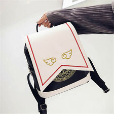 Cute Anime Card Captor Sakura Kinomoto Lolita Magic School Shoulder Bag Backpack