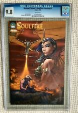 MICHAEL TURNER Soulfire Preview 1 cgc 9.8 1st App of Soulfire Aspen 2003 Jeff