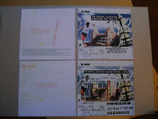 1993 F.A. Cup Final & Replay tickets Arsenal v Sheffield Wednesday mint con