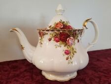 "Royal Albert Old Country Roses Large 7 1/2"" Tea Pot"