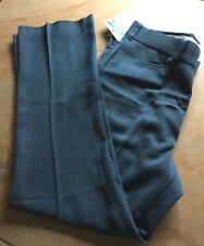 "Men's 60s PANTS Trousers 33"" W X 31"" NWT Blue Herringbone Weave Flared Bells"
