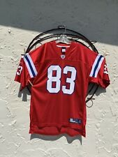 2c054498bd2 Wes Welker New England Patriots #83 Reebok OnField Jersey Throwback Size XL