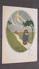 CPA Illustrateur Giris. Enfant, jeune garçon.