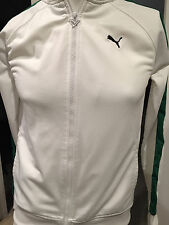 Preowned Boys White Puma Sweater , Preowned!!!    Size L  !!!