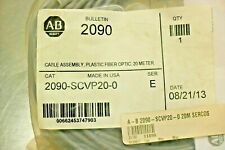 Allen-Bradley 2090-SCVP20-0 Fiber Optic Cable, Ser. E FACTORY SEALED