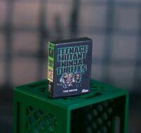 TMNT VHS Case Diorama PROP ONLY Mezco, Marvel Legends, NECA 1/12