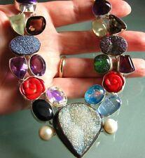 Handmade Emerald Not Enhanced Fine Necklaces & Pendants