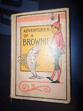 c1903 Reprint ADVENTURES OF A BROWNIE Miss Mulock 18 illustrations 7 Plates