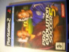 rare JEU  PS2 playstation   PRO EVOLUTION SOCCER frais de port gratuit!!!