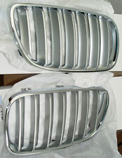 BMW Brand OEM Genuine E83 LCI X3 2007-2010 Chrome Grille Pair Brand New