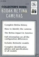 KODAK RETINA CAMERAS COLLECTOR'S COLLECTION GUIDE MANUAL RETINA HISTORY ON CD