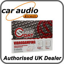 Silent Coat Extra Car Door Kit Sound Deadening Proofing x 6 Sheets 4mm Thick
