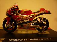 MOTO  1/24 APRILIA RSV250 RANDY DE PUNIET 2004