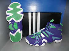 MENS ADIDAS CRAZY 8 in colors PURPLE / WHITE / BLUE SIZE 8.5