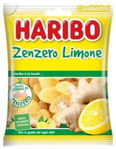 HARIBO GINGER LEMON gummies from Italy 175g-FREE SHIPPING