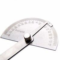 180° Edelstahl Winkelmesser Messwerkzeug Maßstab Schmiege Lineal Gradbogen