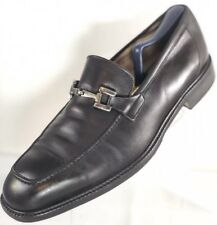 $180 Florsheim IMPERIAL Made in Italy Mens Size 11 Horsebit Leather Loafer Shoes